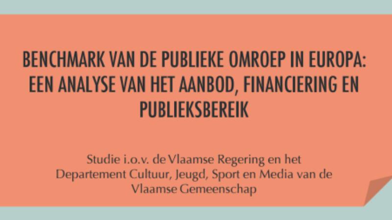 Benchmark van de publieke omroep in Europa: een analyse van het aanbod, financiering en publieksbereik.