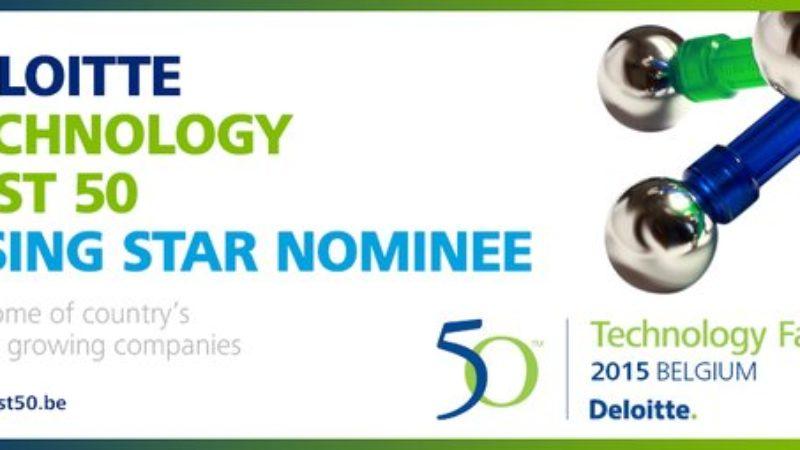 OpenTelly genomineerd voor de Deloitte Rising Star Award