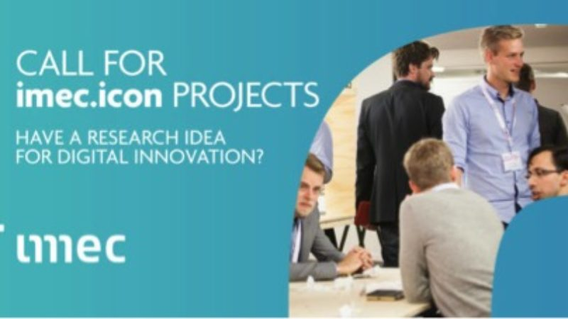 imec.icon call for Cooperative Research Projects – Info Session on June 19