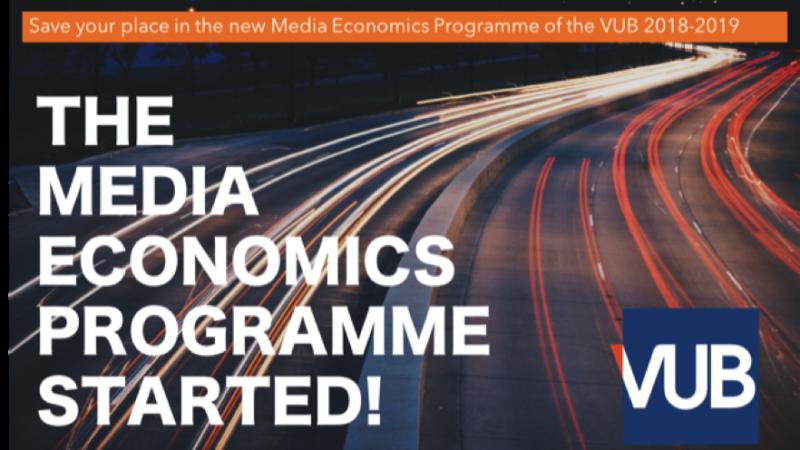 New Media Economics Programme by VUB