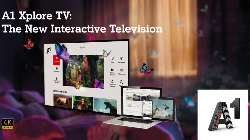 A1 Bulgaria launches Zappware's advanced TV solution