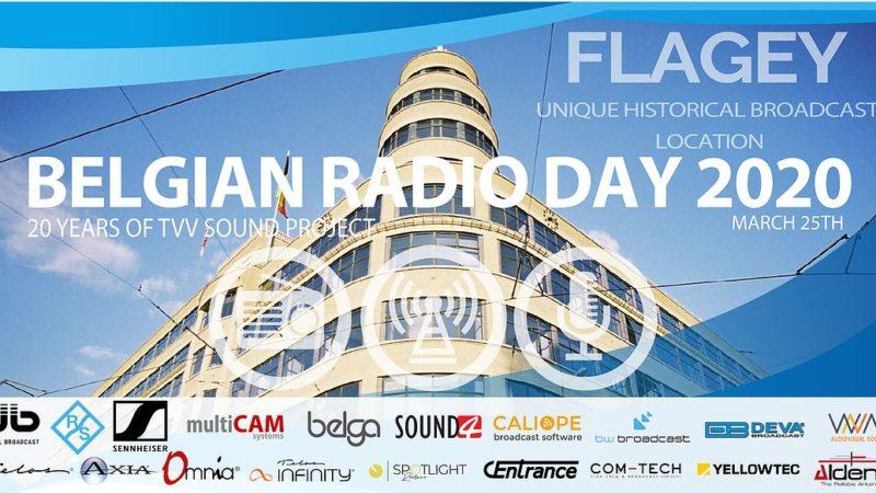 Belgian Radio Day 2020 wordt uitgesteld