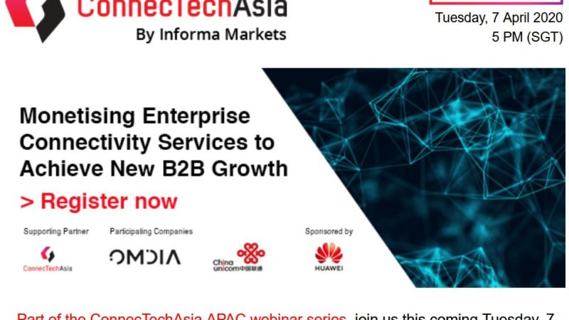 ConnecTech Asia: monetizing enterprise connectivity services