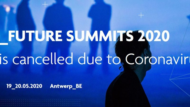 Future Summits 2020 afgelast