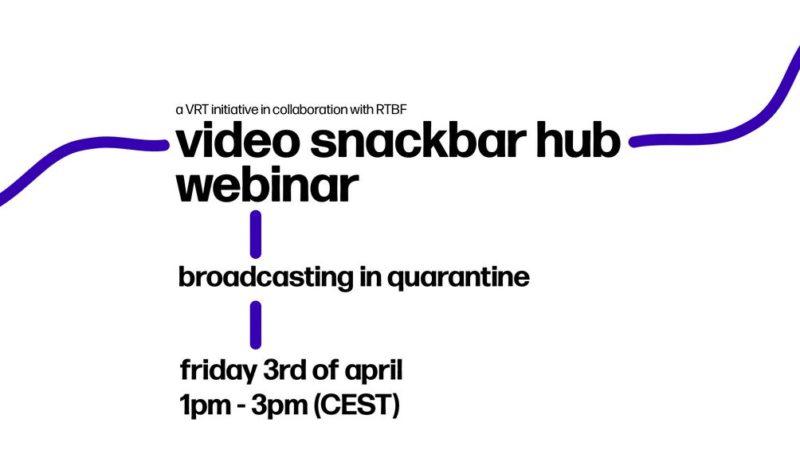 Video Snackbar Hub webinar